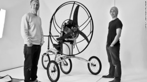 Paravelo: Welcome to the world of Flying Bikes